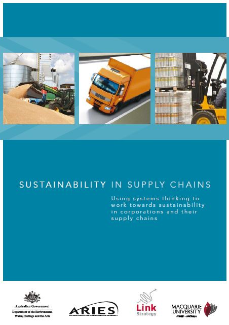 Cover of Supply Chains report