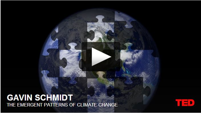 Emergent patterns of climate change