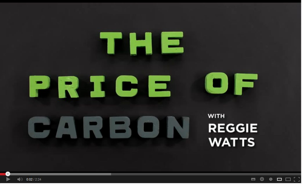 Price of carbon