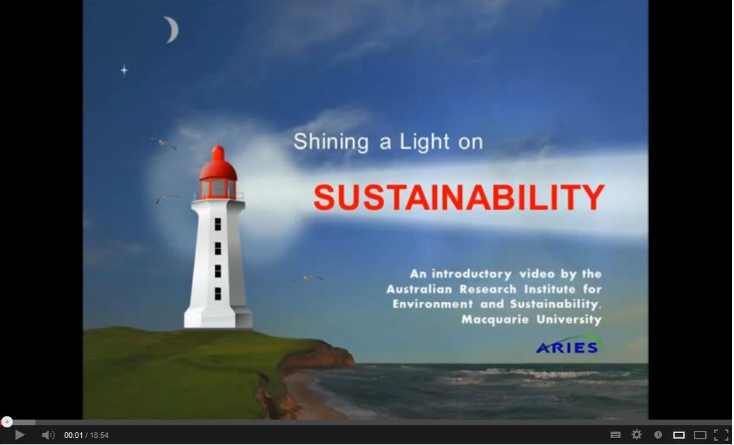 Shining a light on sustainability